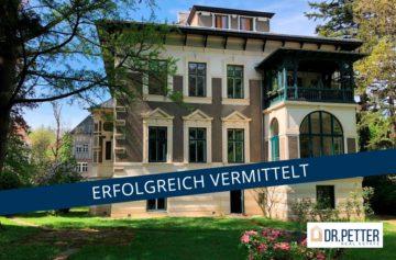 Herrschaftliche 206 m ² VILLENETAGE in Ruhelage + Souterrainwohnung, 1180 Wien, Etagenwohnung